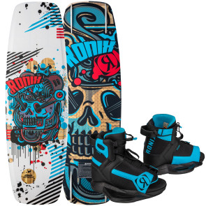 Ronix Kids Atmos #2022 w/Vision Cable Wakeboard Package