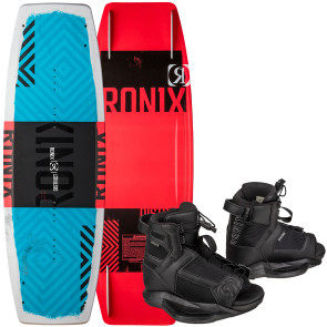 Ronix Kids District #2022 w/Divide Boat Wakeboard Package