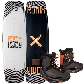 Ronix Ladies Julia Rick #2022 w/Rise Cable Wakeboard Package