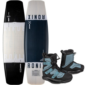 Ronix Kinetik FB 1 #2022 w/Atmos Cable Wakeboard Package
