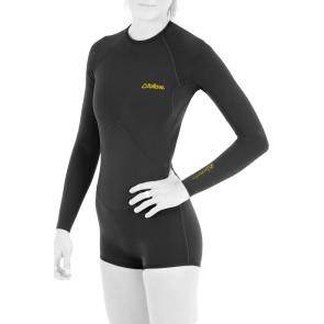 Follow Lycra Longsleeve Springy Wetsuit / Black