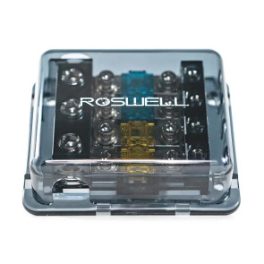 Roswell Marine Audio 1 In 4 Out Fused Distribution Block