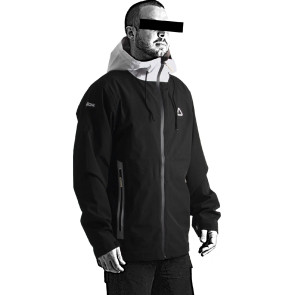 Follow Layer 3.1 Outer Spray Twelker 2021 Jacket - Black