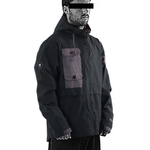 Follow Layer 3.1 Outer Spray Upstate 2021 Jacket - Black